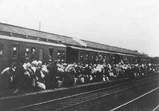 Deportation of Jews from Bielefeld to Riga, Latvia....