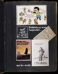 """Collage entitled: Mementos from the Russian campaign,""""..."""