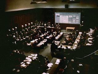 Sessão de julgamento de líderes do alto escalão naz...