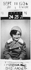 Anne Frank at five years of age.