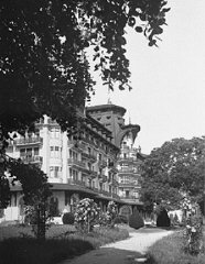 The Hotel Royal, site of the Evian Conference on Jewish...