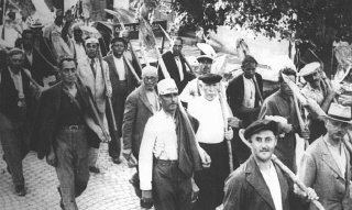 Jews drafted into the Hungarian Labor Service System...