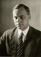 Portrait of Alfred Rosenberg.