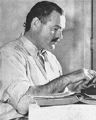 Ernest Hemingway in the U.S., ca. 1950