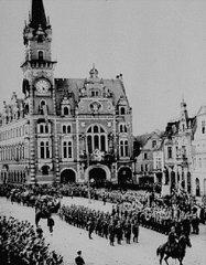 A la suite de l'accord de Munich, qui livra les Sudètes...
