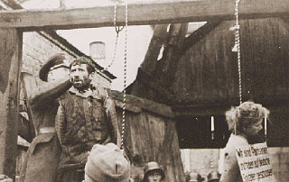 Masha Bruskina, a Jewish Soviet partisan hanged with two other partisans, Krill Trus and Volodya Sherbateyvich.