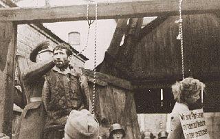 Masha Bruskina, a Jewish Soviet partisan hanged with...