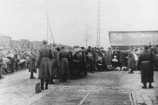 Deportation of Jews from the Jozsefvarosi train station...