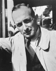 Adolf Eichmann, SS official in charge of deporting...