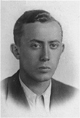 Arie Wilner, a founder of the Warsaw ghetto's Jewish...