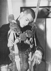 Medical experiment performed at the Dachau concentration...