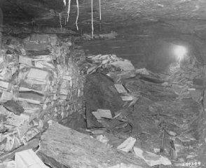 Einsatzstab Rosenberg looted  materials of Jewish culture...