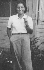 Hannah Szenes, paracadutista ebrea, nel Kibbutz di...