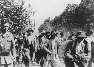 Deportation to the Jasenovac camp.