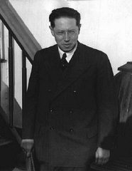 Lion Feuchtwanger in New York, November 17, 1932