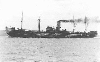 """Le """"Donau"""", l'un des plus grands bateaux utilisés pour..."""