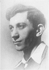 Josef Kaplan, a leader of the Warsaw ghetto underground...