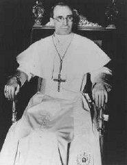 Pío XII, el Papa desde 1939 a 1958.