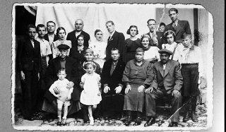 Portrait of the family of Bohor Kalderon.