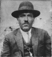 Portrait of David Aruti, son of Isak Aruti.