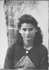 Portrait of Buena Eschkenasi, daughter of Bohor Esc...