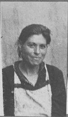 Portrait of Sara Israel, wife of Isak Israel.