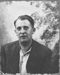 Portrait of Lazar Ischach, son of Yosef Ischach.
