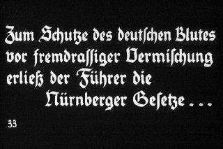 33rd Nazi propaganda slide of a Hitler Youth educational...