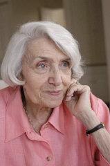 2004 portrait of Blanka Rothschild.