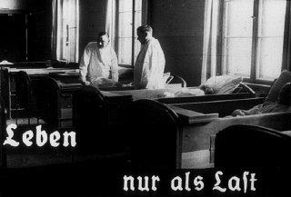 A origem dessa foto é um filme produzido pelo Ministério da Propaganda do Reich.