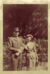 Victor (left), September 1952.