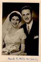 Wedding photo of Regina and Victor.
