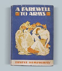 A Farewell to Arms, 1929 cover
