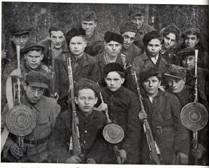 "The ""Lenin"" Partisan Brigade, active in the..."