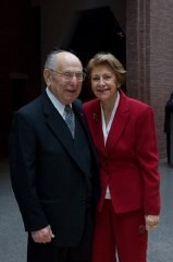 Miles Lerman and his wife Chris.