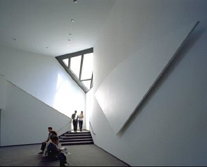 Third floor lounge in the United States Holocaust Memorial...