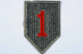 Insignia of the 1st Infantry Division.