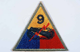 Insignia of the 9th Armored Division.