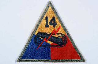 Insignia of the 14th Armored Division.