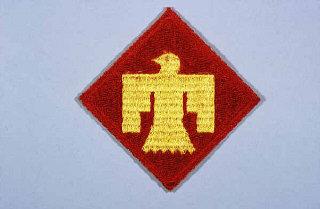 Insignia de la 45ª División de Infantería.