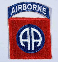 Insignia of the 82nd Airborne Division.