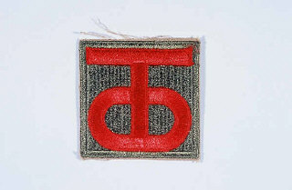Insignia of the 90th Infantry Division.