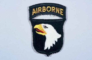 Insignia of the 101st Airborne Division.