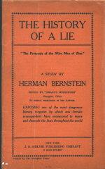 New York Herald reporter Herman Bernstein declared...