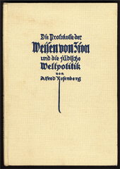 Alfred Rosenberg's 1923 commentary on the Protocols...
