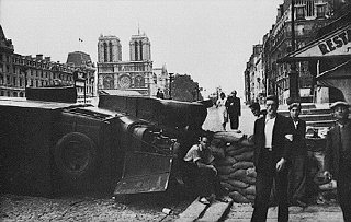 During the battle to liberate the French capital, a...