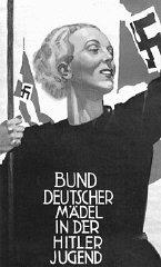 Affiche de recrutement nazie encourageant les jeunes...
