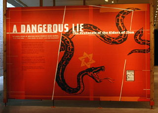 'A Dangerous Lie: The Protocols of the Elders of Zion'...