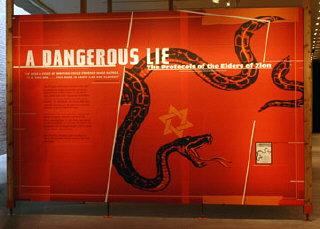 'A Dangerous Lie: The Protocols of the Elders of Zion'...