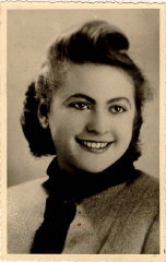 Amalie Petranka (later Salsitz) at 22 years of age....